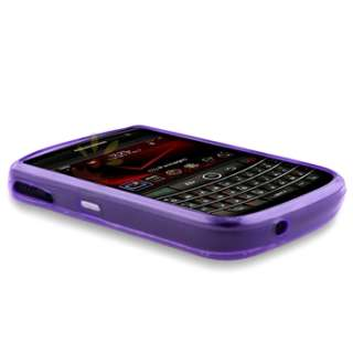 PCS COLOUR TPU CANDY SKIN RING HARD GEL CASE COVER for BLACKBERRY