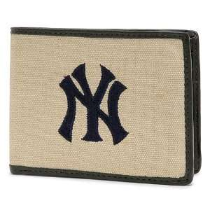 New York Yankees Home Field Bill Fold Wallet Sports & Outdoors