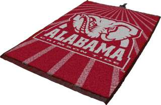 Alabama Crimson Tide Logo Jacquard Golf Towel Cotton