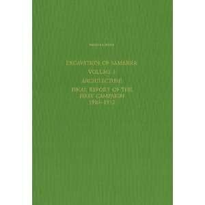 Excavation of Samarra  Volume 1  Architecture   Final