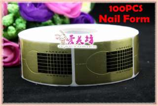 Professional Nail Forms Sticker for Art Acrylic/UV Gel Tips Extension