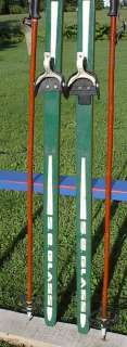 Cross Country 75 Skis 3 pin 195 cm Pole JARVINEN WAXLES