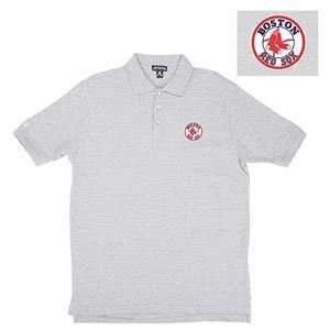 Classic Pique Polo Shirt (Heather Grey) (Large)