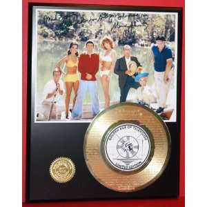 Gold Record Rare LTD Edition Laser Etched w/ Lyrics