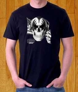 NEW T SHIRT LONG LIVE ROCK N ROLL KISS BAND ARMY MUSIC