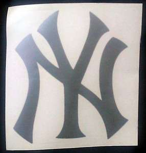 New York Yankees Letter Logo Vinyl Decal color options