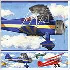 Baby Nursery Vintage Planes Wall Border Wallpaper Decor