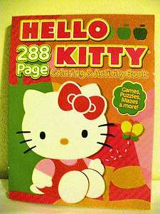 Hello Kitty Coloring & Activity Book 288 Pages 2009 (BRAND NEW