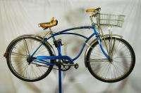 spd Schwinn Corvette blue middleweight bicycle bike cantilever