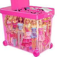 Barbie Store It All Tara Toy Pink Storage Case for Barbies Clothing