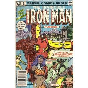 Iron Man Annual #5 (War and Remembrance) Marvel Comics Books