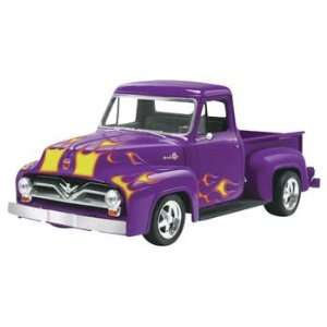55 Ford F 100 Pickup Street Rod (Plastic Model Vehicle) Toys & Games