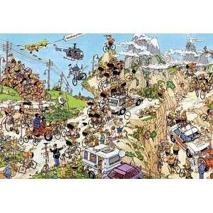 J.V. Haasteren Tour De France Jigsaw Puzzle 1500pc Toys