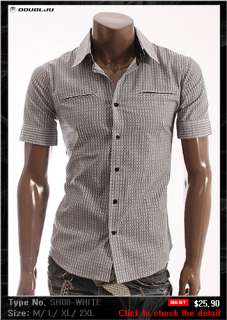 happy Mens Shortsleeve Casual Shirts Collection