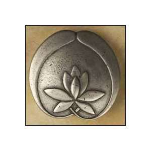 1 3/4 Asian Lotus Flower Knob (Anne at Home 2264 Cabinet