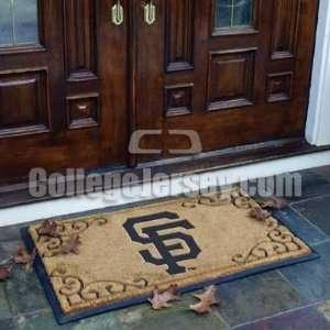San Francisco Giants Door Mat Memorabilia. Sports