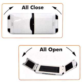 12000mAh Solar Power Charger for Laptop iPhone Cell Phone DV  MP4