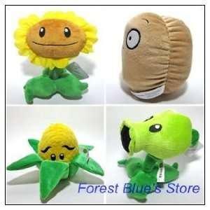 plants vs zombies plush toys factory products 20pcs/lot Toys & Games