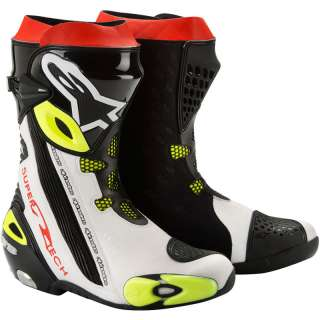 SUPERTECH R MOTORCYCLE MOTORBIKE RACING MOTO GP SPORTS BOOTS