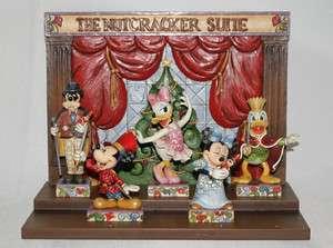 Jim Shore Disney Christmas Nutcracker Suite Set/6
