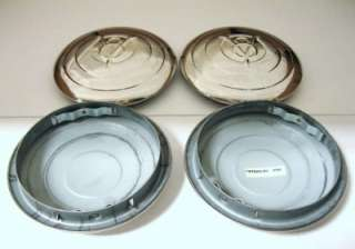 1933 Ford Car Pickup Truck SS Hubcap 33 V8 Logo Set (4)