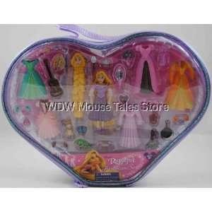 Disney World Princess Rapunzel Polly Fashion Playset Toys & Games