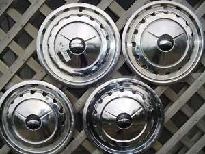 1957 CHEVROLET CHEVY BELAIR IMPALA HUBCAPS WHEEL COVERS