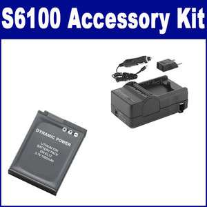 Nikon Coolpix S6100 Digital Camera Accessory Kit By Synergy (Battery