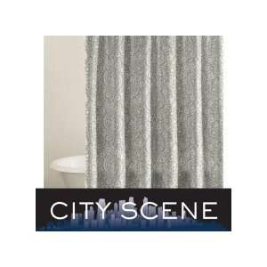 City Scene Henna Shower Curtain:  Home & Kitchen