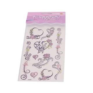 can use this beautiful tattoo stickers to cover the scar on your body