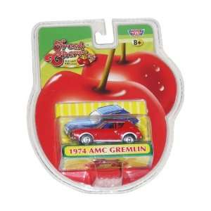 com 1974 AMC Gremlin Red Die Cast 164 (Fresh Cherries) Toys & Games