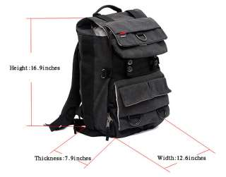 Outdoor waterproof SLR Camera Laptop Backpack Bag Canon EOS Nikon Sony