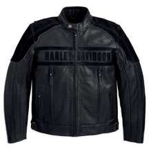 Harley Davidson Challenger Waterproof Leather Jacket