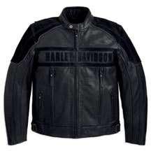 Harley Davidson Challenger Waterproof Leather Jacket