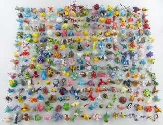 HUGE Collection of 397 Pokemon 2 Figures Pikachu &more