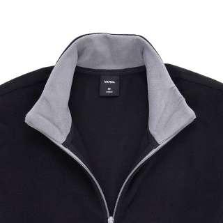 Vancl Stand Collar Polar Fleece Zipper (mens)JacketsCoats Royal