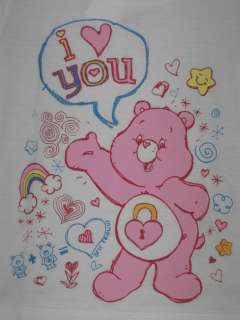 Care Bears   I Love You Girls Toddlers T Shirt |