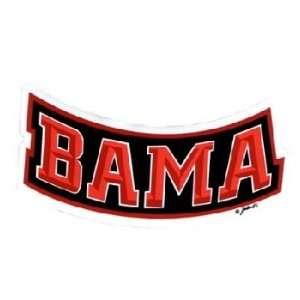 NCAA Alabama Crimson Tide Car Magnet Bama (Small, 2 Pack