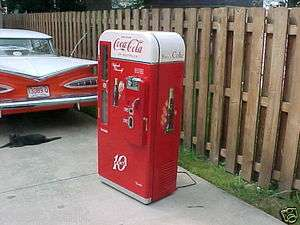 Restored Antique Coca Cola Coke Machines Vendo 81A 81B, 81D, CAV72