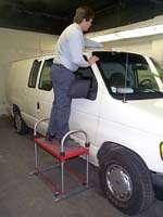 Steck Pro Step, Adjustable Platform, Rolling Van Stand