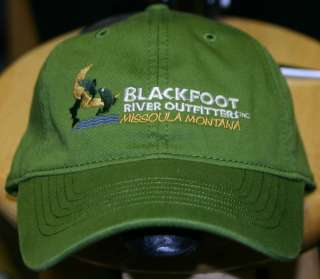 Blackfoot River Outfitters Logo Baseball Cap Hat