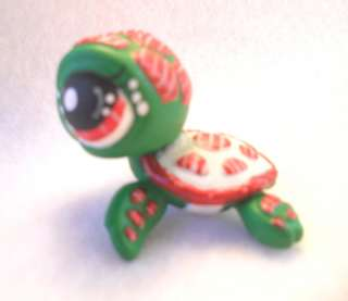 Holiday Cheer Turtle * OOAK Custom Littlest Pet Shop Christmas