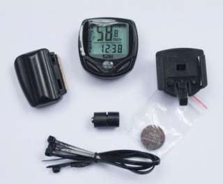 Cycling Bike Bicycle Wireless LCD Cycle Computer Speedometer Odometer