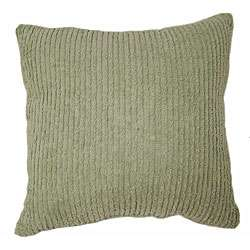 Ribbed Sage Green Throw Pillows (Set of 2)