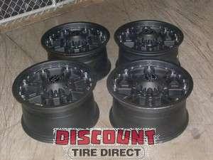 Used 17x9 8x170 8 170 Black Rhino Rockwell Matt Black Wheels/Rims