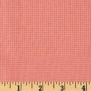 44 Wide Love & Kisses Tiny Bubbles Rose Fabric By The