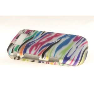 Blackberry Torch 9800 Hard Case Cover for Colorful Zebra