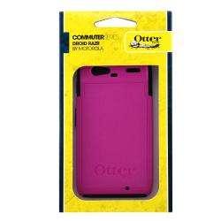 Otter Box Motorola Droid RAZR XT910 OEM Pink/ Black Commuter Case