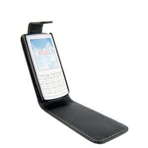 WalkNTalkOnline   Nokia X3 02 Black Specially Designed Leather Flip
