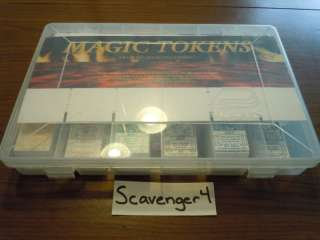 Magic Tokens Display Box Case Citadel MTG Gathering 191